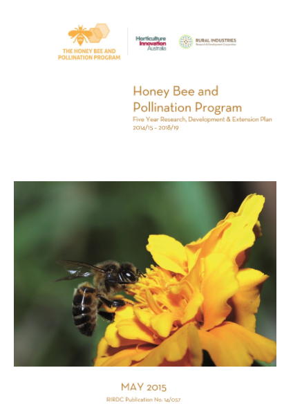 Honey Bee and Pollination Program Five Year Research, Development & Extension Plan 2014/15 – 2018/19 - image