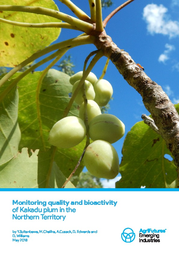 Monitoring quality and bioactivity of Kakadu plum in the Northern Territory - image