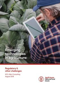Emerging technologies in agriculture: Regulatory and other challenges - image