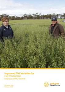 Improved Oat Varieties for Hay Production - image
