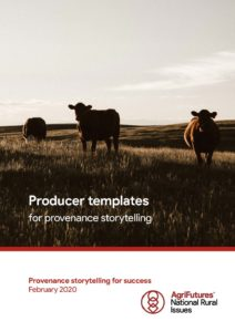 Producer templates for provenance storytelling - image