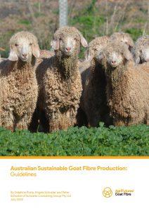 Australian Sustainable Goat Fibre Production: Guidelines - image