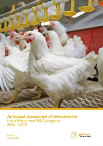 An impact assessment of investment in the chicken meat R&D program 2014 - 2019 - image