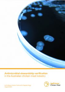 Antimicrobial stewardship verification in the Australian chicken meat industry - image