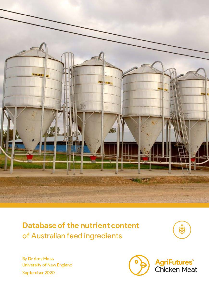 Database of the nutrient content of Australian feed ingredients - image