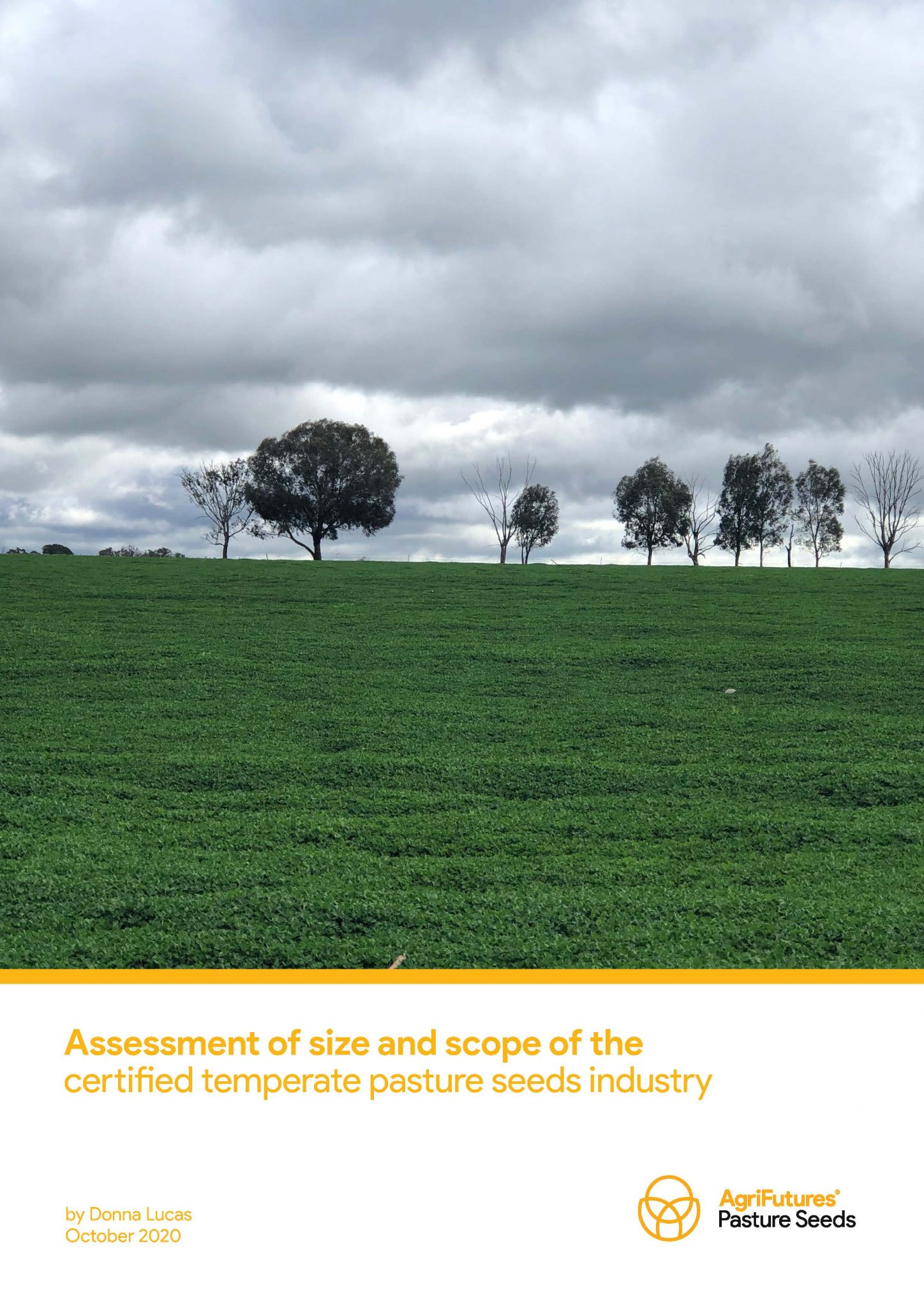 Assessment of size and scope of the certified temperate pasture seeds industry - image