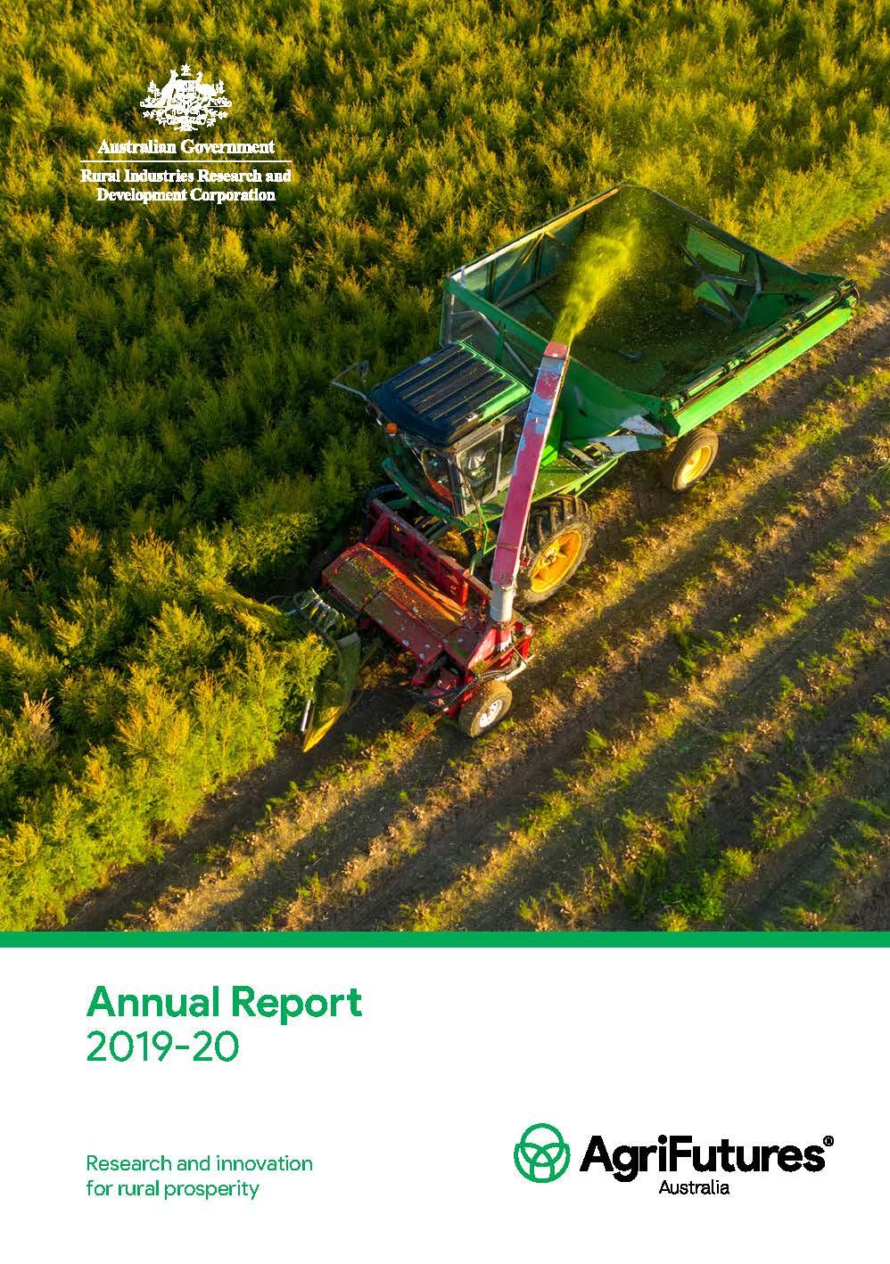 AgriFutures Australia Annual Report 2019-2020 - image