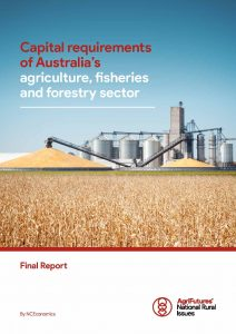 Capital requirements of Australia's agriculture, fisheries and forestry sector - image