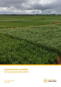 Final report: Improved oat varieties for hay production 2020 - image