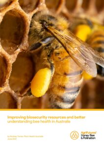 Final report: Improving biosecurity resources and better understanding bee health in Australia - image