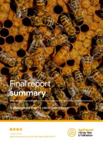 Final report summary: A pheromone trap to catch queen bees - image
