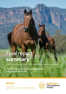 Final report summary: Coxiella burnetii infection in association with equine abortion - image