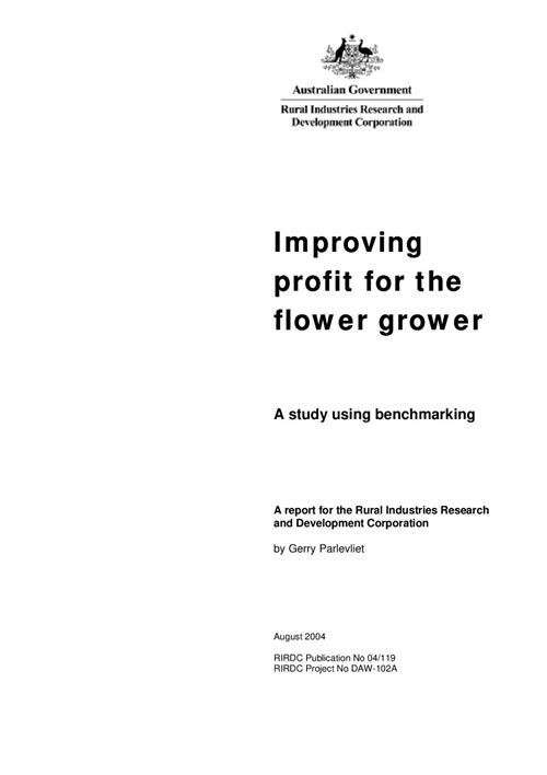 Improving profit for flower growers - image