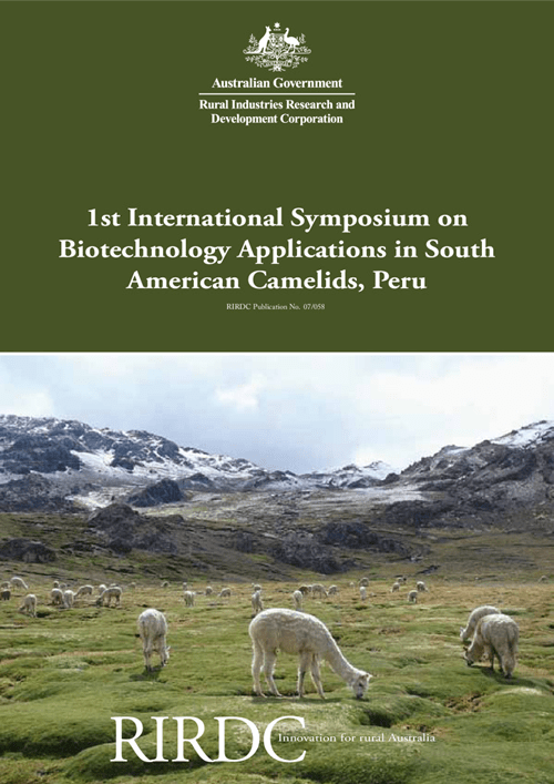 1st International Symposium on Biotechnology Applications in South American Camelids, Peru - image