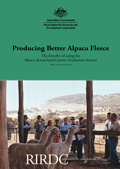 Producing Better Alpaca Fleece - The benefits of using the Alpaca Across-herd Genetic Evaluation (AGE) System - image