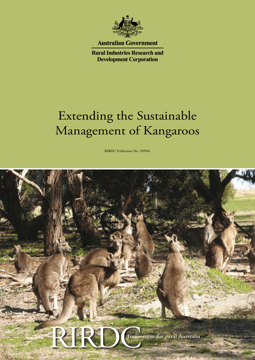 Extending the Sustainable Management of Kangaroos - image