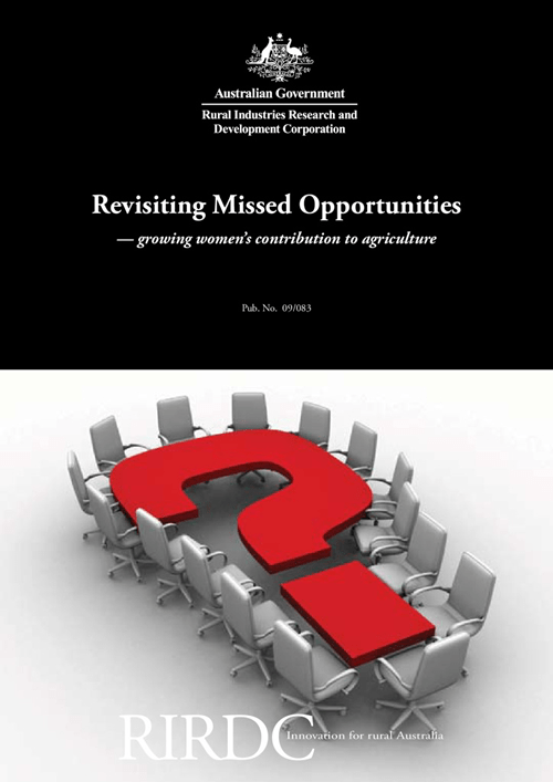 Revisiting Missed Opportunities - growing women's contribution to agriculture - image