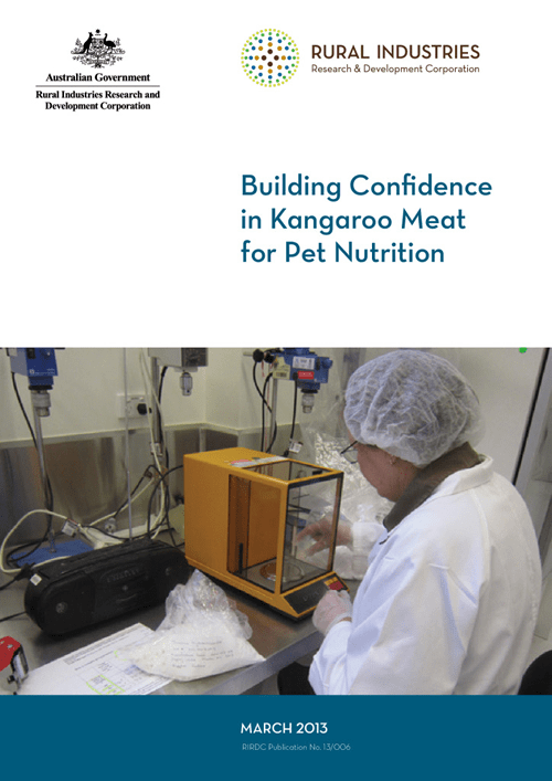 Building Confidence in Kangaroo Meat for Pet Nutrition - image