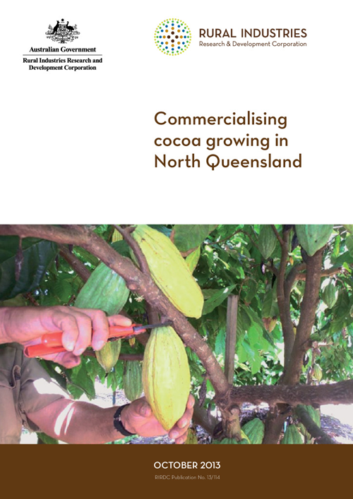 Commercialising cocoa growing in North Queensland - image