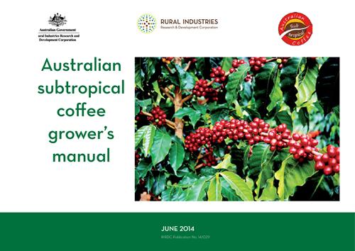Australian subtropical coffee grower's manual - image