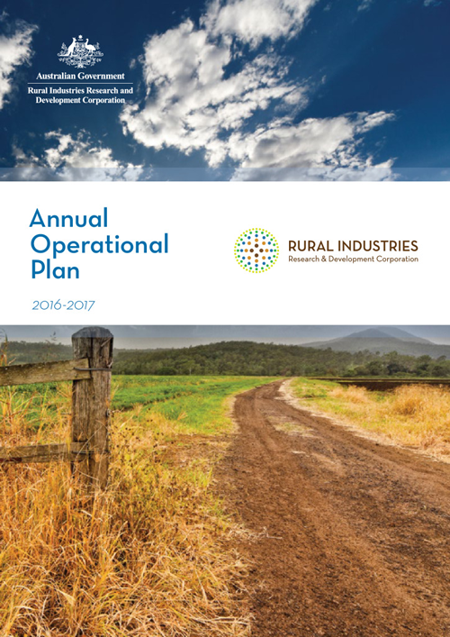 RIRDC Annual Operational Plan 2016-17 - image