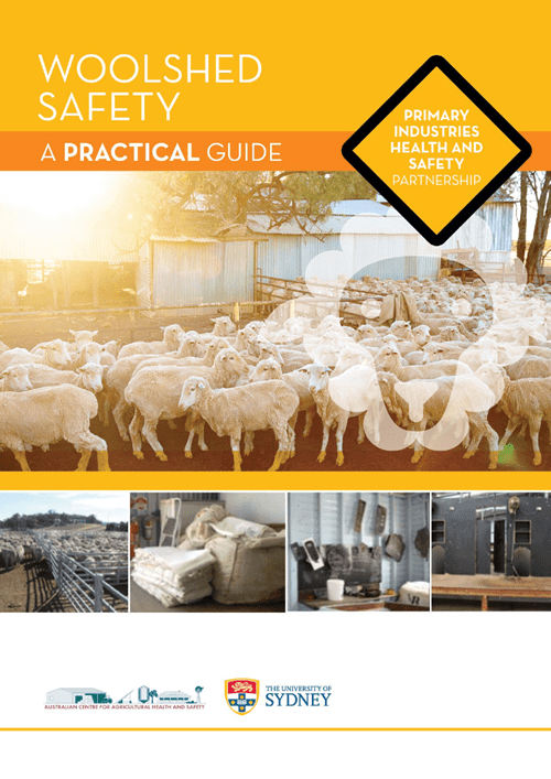 Woolshed Safety-A Practical Guide - image