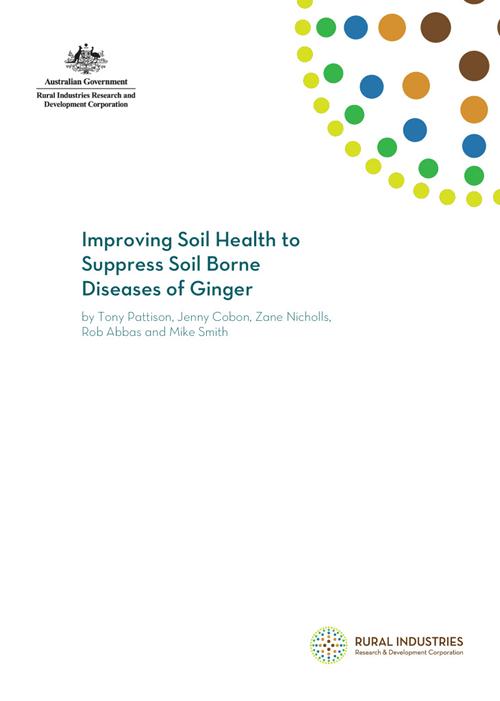 Improving Soil Health to Suppress Soil borne Diseases of Ginger - image
