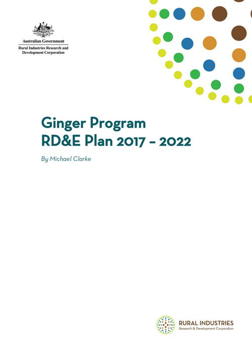 Ginger Program RD&E Plan 2017 – 2022 - image