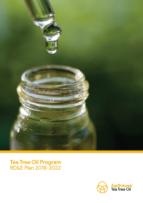 Tea Tree Oil Program RD&E Plan 2018–2022 - image