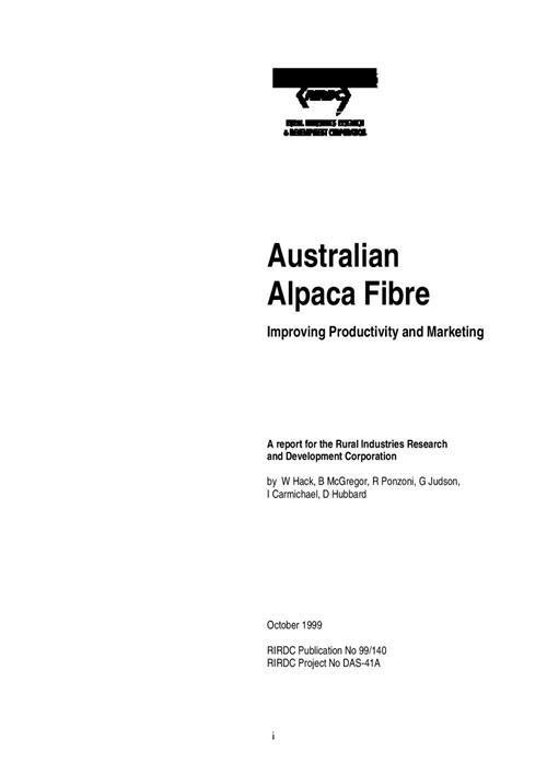 Australian Alpaca Fibre - image